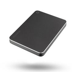 Жесткий диск Toshiba Canvio Premium 1Tb Dark Grey Metallic HDTW210EB3AA Выгодный набор + серт. 200Р!!!