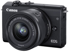 Фотоаппарат Canon EOS M200 Kit 15-45 IS STM Black 3699C010