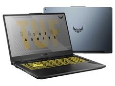 Ноутбук ASUS TUF FX706IU-H7081 Fortress Gray 90NR03K1-M03590 (AMD Ryzen 7 4800H 2.9 GHz/16384Mb/512Gb SSD/nVidia GeForce GTX 1660Ti 6144Mb/Wi-Fi/Bluetooth/Cam/17.3/1920x1080/DOS)