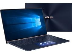 Ноутбук ASUS Zenbook UX534FTC-AA329R 90NB0NK3-M07140 (Intel Core i7-10510U 1.8GHz/16384Mb/1000Gb SSD/nVidia GeForce GTX 1650 Max-Q 4096Mb/Wi-Fi/15.6/3840x2160/Windows 10 64-bit)