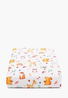 Одеяло детское Заяц на подушке с наполнителем, 80Х120 СМ