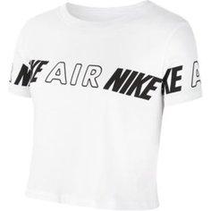 Укороченная футболка для девочек школьного возраста Nike Air