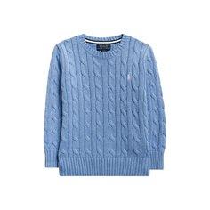 Свитеры Polo Ralph Lauren Хлопковый пуловер Polo Ralph Lauren
