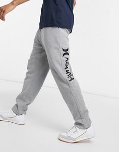 Серые флисовые джоггеры Hurley OAO-Серый