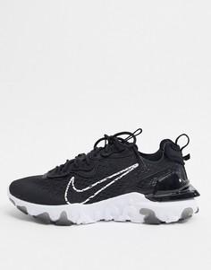 Черные кроссовки Nike React Vision-Черный