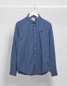 Рубашка в клеточку с длинными рукавами Timberland-Синий