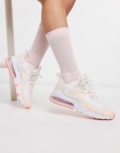 Пастельные кроссовки Nike Air Max 270 React-Розовый