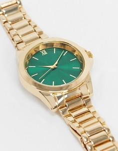 Золотистые наручные часы Topman-Золотой