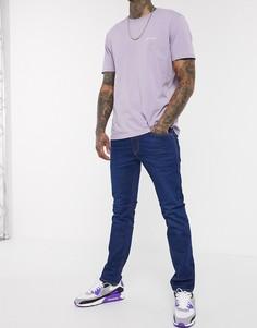 Синие узкие эластичные джинсы Diesel Thommer-X-Синий