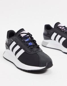 Черно-белые кроссовки adidas Originals-Белый