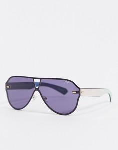 Черные солнцезащитные очки Quay Australia-Черный
