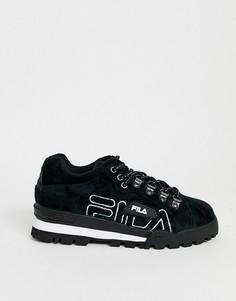 Кроссовки Fila-Черный