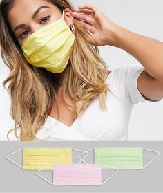 3 пастельные маски для лица ASOS DESIGN-Мульти