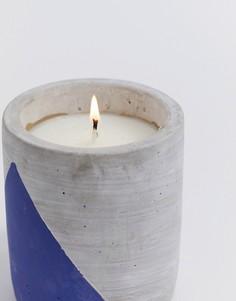Свеча с ароматом древесины и индигоURBAN,99 г-Бесцветный Paddywax