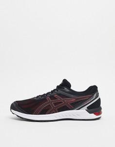 Черно-красные кроссовкиAsicsRunning gel sileo-Черный