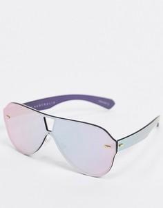Розовые солнцезащитные очки Quay Australia-Розовый