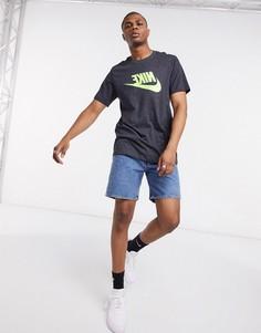 Темно-серая футболка Nike Festival-Серый