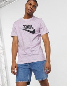 Светло-фиолетовая футболкаNikeFestival-Фиолетовый