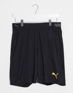 Черные шорты Puma Football-Черный