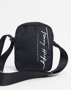 Черная сумка для авиапутешествий Tommy Hilfiger-Черный