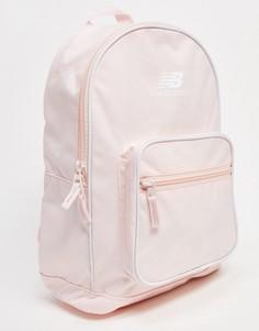 Розовый классический рюкзак New Balance-Бежевый