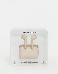 Золотистые матовые беспроводные наушники ограниченной серии Happy Plugs air 1-Бесцветный