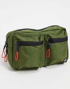Оливковая сумка-кошелек на пояс Dickies-Зеленый
