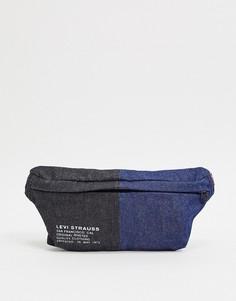 Сумка-кошелек на пояс в стиле колор блок Levis-Черный