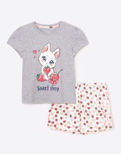 Пижама для девочки Gloria Jeans