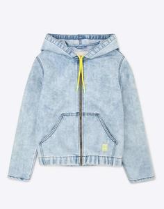 Джинсовая куртка с капюшоном для мальчика Gloria Jeans