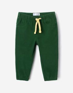 Зелёные брюки-джоггеры для малыша Gloria Jeans