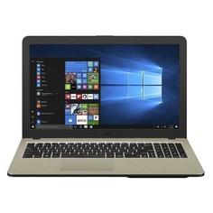 """Ноутбук ASUS VivoBook X540UB-DM1705T, 15.6"""", Intel Core i3 6100U 2.3ГГц, 8ГБ, 256ГБ SSD, nVidia GeForce Mx110 - 2048 Мб, Windows 10, 90NB0IM1-M25140, черный"""