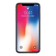 Смартфон CLEVERCEL APPLE iPhone X 256Gb (подержанный c гарантией), серый космос