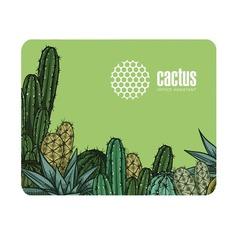 Коврик для мыши CACTUS CS-MP-C02S, зеленый