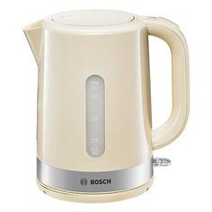 Чайник электрический Bosch TWK7407, 2200Вт, бежевый