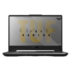 "Ноутбук ASUS TUF Gaming FX506II-HN172T, 15.6"", IPS, AMD Ryzen 5 4600H 3.0ГГц, 16ГБ, 512ГБ SSD, NVIDIA GeForce GTX 1650 Ti - 4096 Мб, Windows 10, 90NR03M1-M05360, серый"