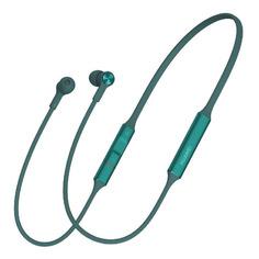 Наушники с микрофоном HUAWEI FreeLace CM70-C, Bluetooth/USB Type-C, вкладыши, зеленый [55031515]
