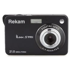 Цифровой фотоаппарат Rekam iLook S990i, черный