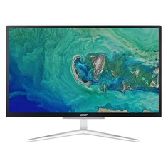 """Моноблок ACER Aspire C22-820, 21.5"""", Intel Pentium Silver J5040, 4ГБ, 1000ГБ, Intel UHD Graphics 605, Endless, серебристый и черный [dq.bdzer.002]"""