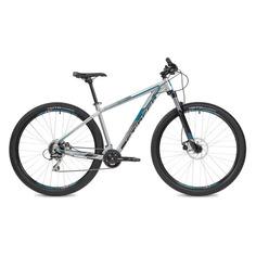 """Велосипед Stinger Reload STD (2020) горный рам.:20"""" кол.:29"""" серебристый 15.3кг (53738-05)"""