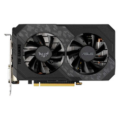 Видеокарта ASUS NVIDIA GeForce GTX 1650 , TUF-GTX1650-4GD6-GAMING, 4ГБ, GDDR6, Ret