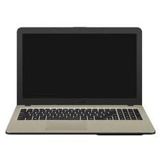 """Ноутбук ASUS VivoBook X540UB-DM1707, 15.6"""", Intel Core i3 6100U 2.3ГГц, 8ГБ, 1000ГБ, 128ГБ SSD, nVidia GeForce Mx110 - 2048 Мб, Endless, 90NB0IM1-M24650, черный"""