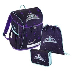 Школьные ранцы, рюкзаки, сумки Ранец Step By Step BaggyMax Trikky Crown 3 предмета