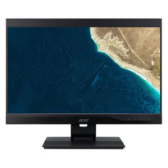 "Моноблок ACER Veriton Z4860G, 23.8"", Intel Core i3 9100, 4ГБ, 128ГБ SSD, Intel UHD Graphics 630, DVD-RW, Endless, черный [dq.vrzer.12h]"