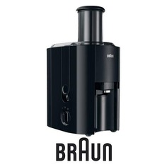Соковыжималка BRAUN J 300, центробежная, черный [0x81300159]