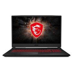 """Ноутбук MSI GL75 Leopard 10SCSR-008RU, 17.3"""", IPS, Intel Core i7 10750H 2.6ГГц, 8ГБ, 512ГБ SSD, NVIDIA GeForce GTX 1650 Ti - 4096 Мб, Windows 10, 9S7-17E822-008, черный"""