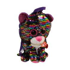 Рюкзак TY игрушка Дотти леопард многоцветный с пайетками