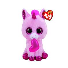 Мягкая игрушка TY Единорог Darling с сердечком 25 см