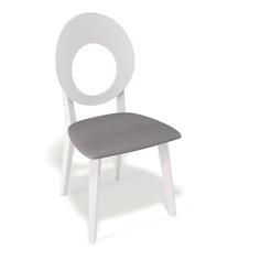 Стул Kenner 115м белый/серый