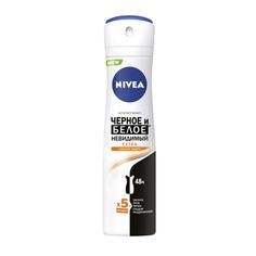 Дезодорант-спрей для женщин Nivea Черное и белое Невидимый Extra 150 мл